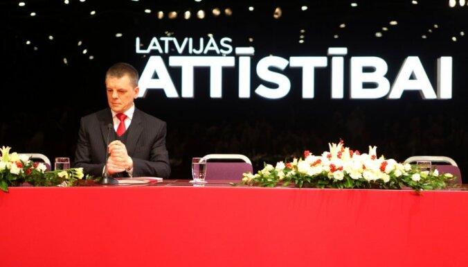 Nodibina partiju 'Latvijas attīstībai', tās priekšsēdētājs - Repše