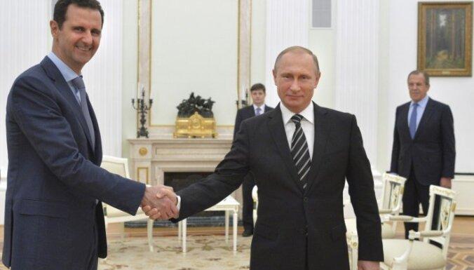 Госдеп рассчитывает, что Россия приведет Асада за стол переговоров