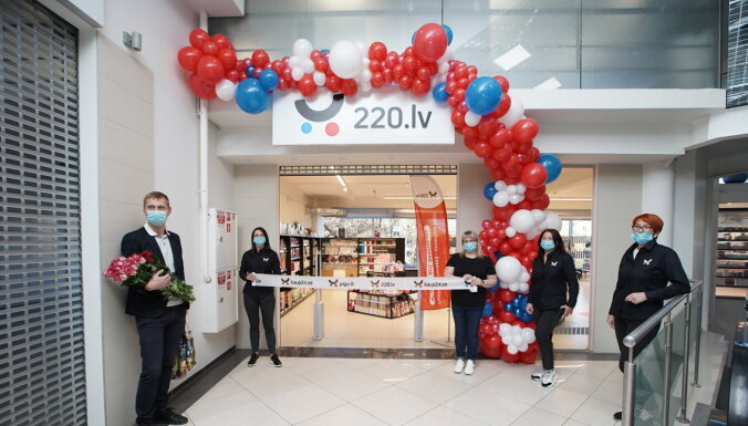 Интернет-торговец 220.lv открыл пункт получения товаров и офлайн-магазин в Даугавпилсе