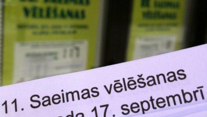 Aptauja: iedzīvotāji vīlušies Saeimas ārkārtas vēlēšanu rezultātā