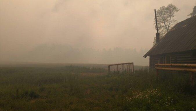 Эвакуированные жители села Стикли постепенно возвращаются в свои дома