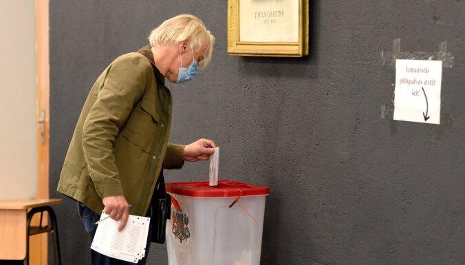 За первый час на выборах в Рижскую думу проголосовали 19,64% избирателей