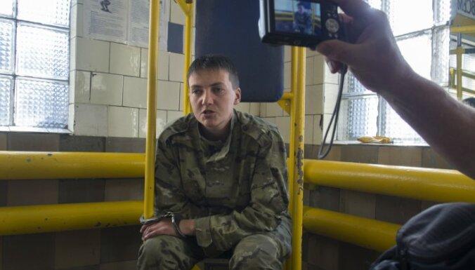 Украинскую летчицу Савченко после психиатрической экспертизы вернули в СИЗО