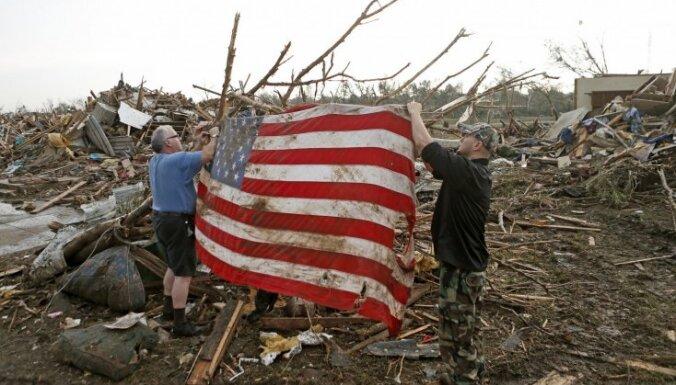 Spēcīgais tornado ASV prasījis desmitiem dzīvību