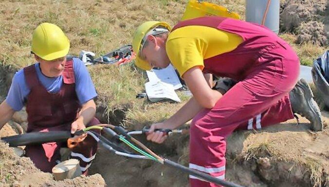На развитие и повышение надежности электросети в Курземе в этом году – 8,6 миллионов евро