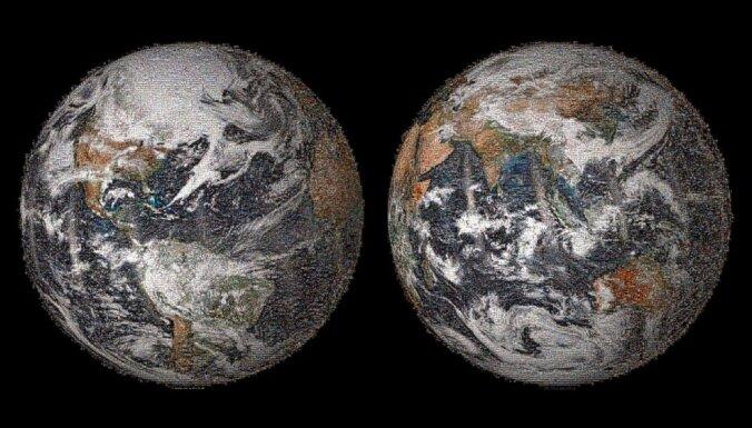 NASA radījusi 'globālo selfiju' no 36 422 attēliem