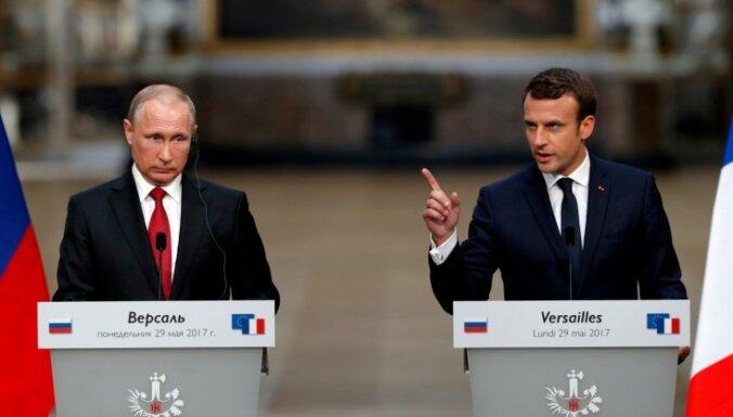 Макрон готов пойти на уступки Путину в моратории на размещение РСМД