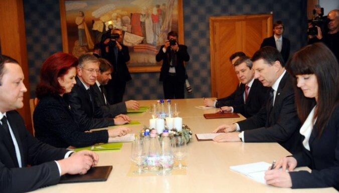 Valdības veidošana: Vējonis noslēdz sarunas ar partijām