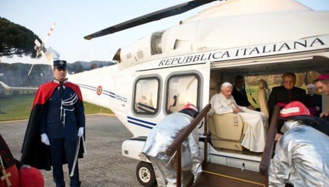 Benedikts XVI sāk jaunu dzīvi, skatoties televizoru un kārtīgi izguļoties