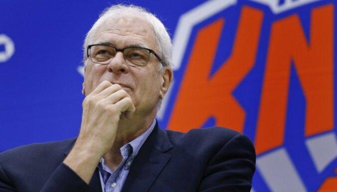 Džeksons vēl divus gadus būs 'Knicks' prezidents, vēsta mediji