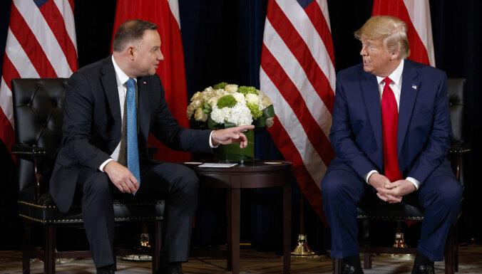 """Трамп и Дуда обсудили, как остановить """"Северный поток — 2"""""""