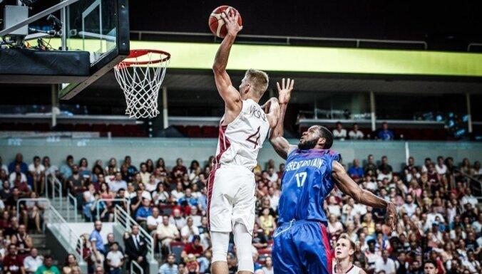 Latvijas U–18 basketbolisti iekļūst EČ pusfinālā un iegūst ceļazīmi uz Pasaules kausu