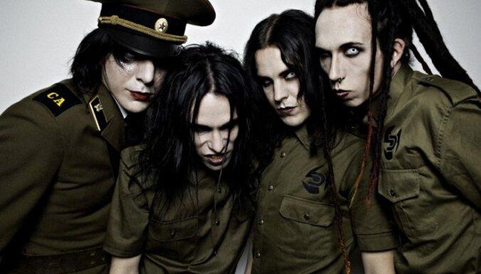 'Rammstein' Rīgā iesildīs industriālā metāla grupa 'Deathstars'
