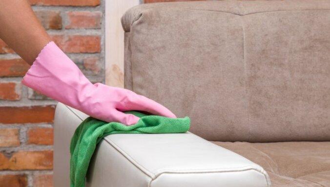 Krāsas atjaunošana un traipu izmazgāšana – padomu apkopojums mīksto mēbeļu tīrīšanai