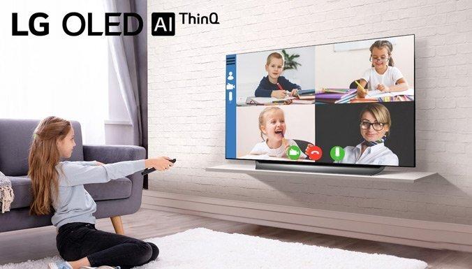 LG OLED TV - labākais televizors darbam vai mācībām no mājām