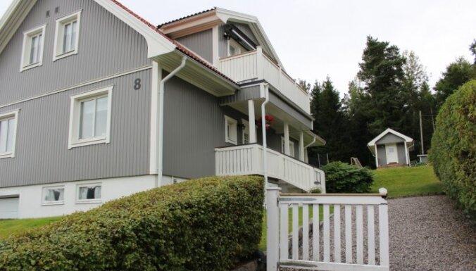 Nekā lieka un pārspīlēta – kādās mājās dzīvo Zviedrijā