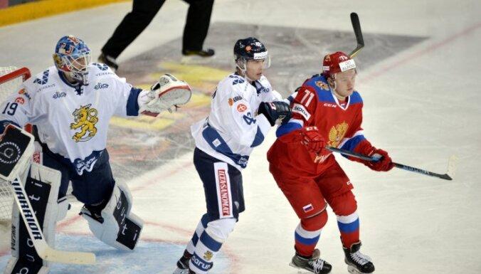 Россия Олега Знарка проиграла Финляндии на старте Кубка Карьяла
