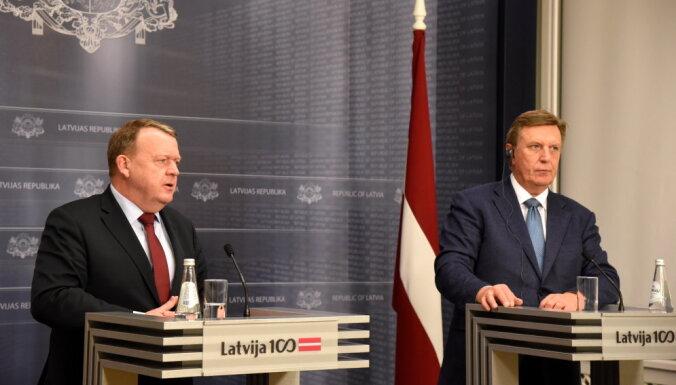 Кучинскис: вклад Дании в безопасность Латвии подтверждает, что сотрудничество между странами реальное