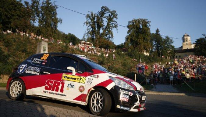 Ralfs Sirmacis Čehijā nodrošina 2015. gada Eiropas vicečempiona titulu rallijā