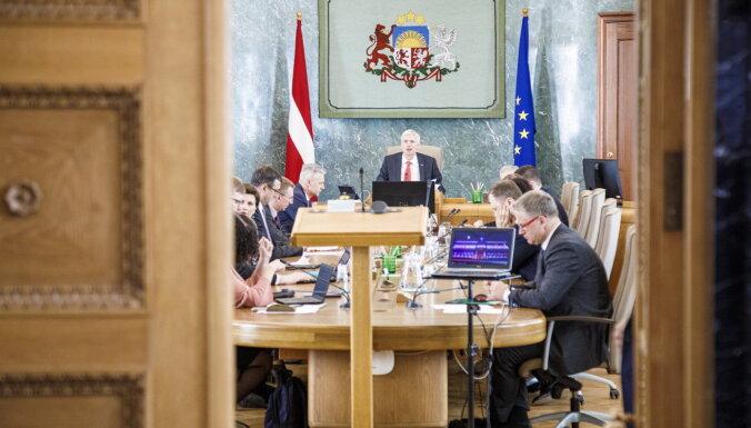 Рейтинг правительства Кариньша упал до самого низкого показателя