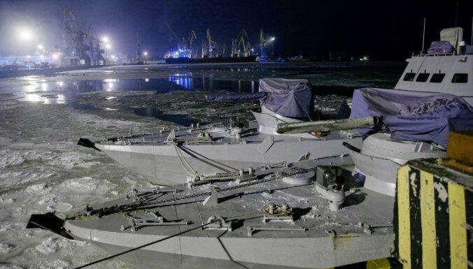 Ja Krievija neatbrīvos ukraiņu jūrniekus, tā izjutīs sāpes, brīdina ASV diplomāts
