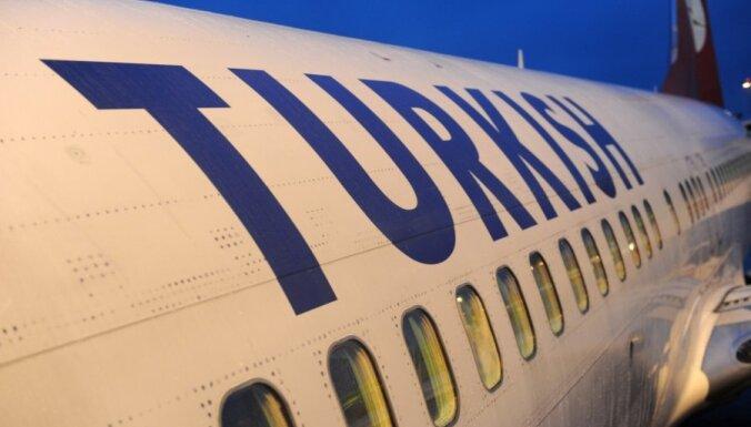 Pagaidām vēl nav atcelts lidojums no Rīgas uz Stambulu