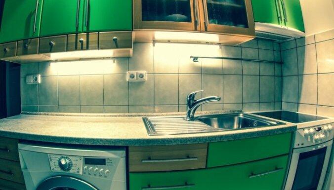 Seši triki, kas virtuvei liks izskatīties lielākai