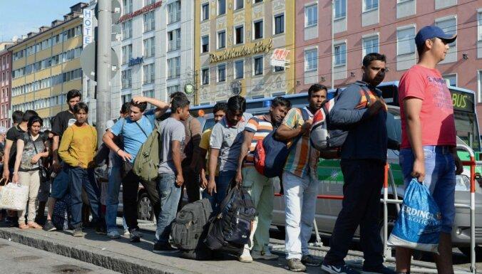 Жители дома в Германии за 20 тысяч евро построили забор от беженцев