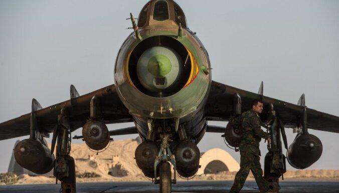 Израильские военные сбили сирийский самолет