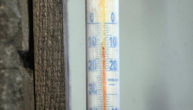 Впервые этой осенью в Латвии местами похолодало до -10 градусов