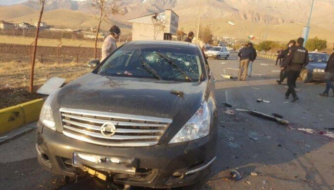Pie Teherānas nogalināts ievērojams irāņu kodolzinātnieks
