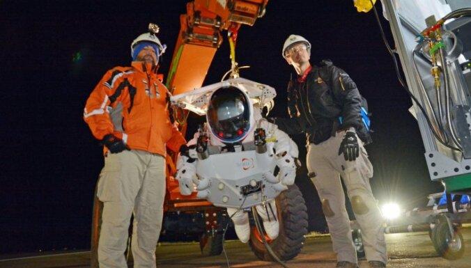 ВИДЕО: вице-президент Google побил рекорд, прыгнув с парашютом с высоты 41 км