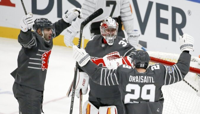 Nākamās sezonas NHL Visu zvaigžņu spēle notiks Lasvegasā