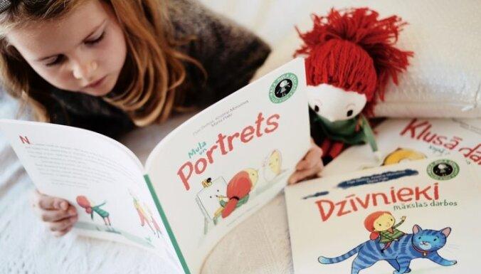 Leļļu teātra izrāde, galda spēles un jaunākā lasāmviela – bērnu pasākumi Latvijas grāmatu izstādē