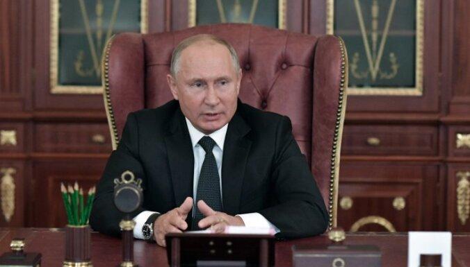 Krievijas prezidents paraksta likumu par pensiju reformu