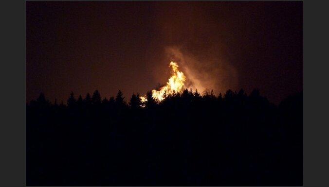 В Литве взорвался газопровод