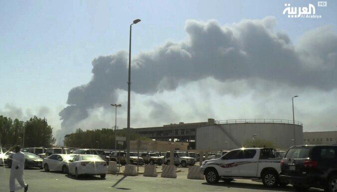 Uzbrukums Saūda Arābijā: ASV vēlas ANO Drošības padomes rīcību