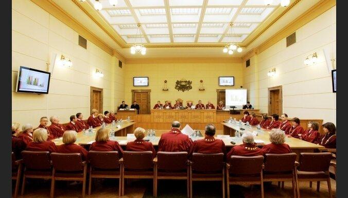 AT plēnumā pauž bažas par likumu izmaiņu dēļ iespējamo tiesisko nihilismu sabiedrībā