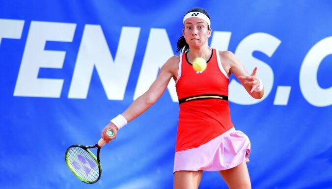 Sevastova neizmanto daudzās iespējas pret Kuzņecovu un izstājas no Sinsinati turnīra
