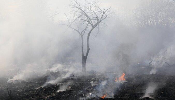 VUGD brīdina par paaugstinātu ugunsbīstamību Latvijas centrālajā daļā