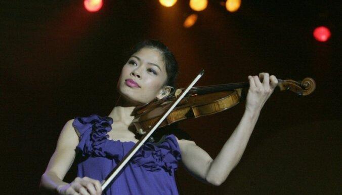 Скрипачка Ванесса Мэй выйдет на старт Олимпиады в Сочи