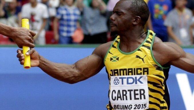 Atkārtotajos dopinga testos pieķertais Pekinas Olimpiādes čempions ir jamaikiešu sprinteris Kārters