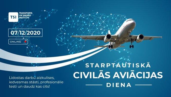 TSI Aviācijas diena tiešsaistē. Ieraksts.