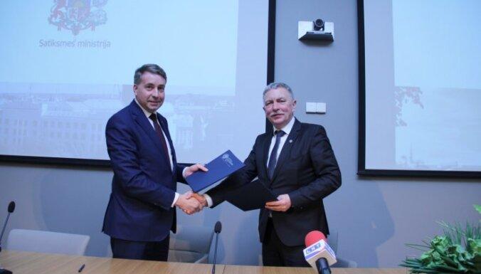 Министерство сообщения и Латвийский университет подписали меморандум о сотрудничестве