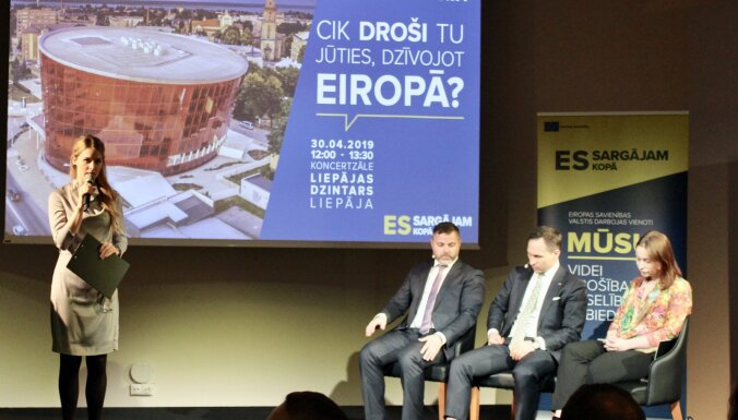 Tiešraidē no Valkas: diskusija par drošības jautājumiem mūsdienu Eiropā
