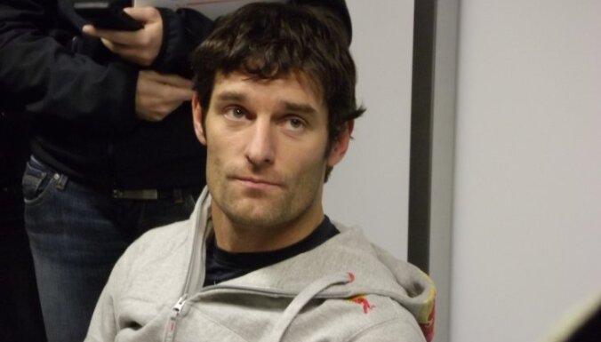 Marks Vēbers paliek 'Red Bull' arī uz 2012.gadu