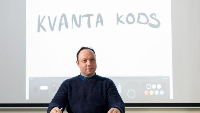 Filmu 'Kvanta kods' demonstrēs vairāk nekā 100 Latvijas skolās