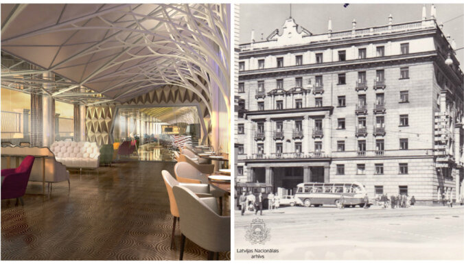 """Тогда и сейчас. Как выглядит новая гостиница Kempinski в здании бывшей гостиницы """"Рига"""""""