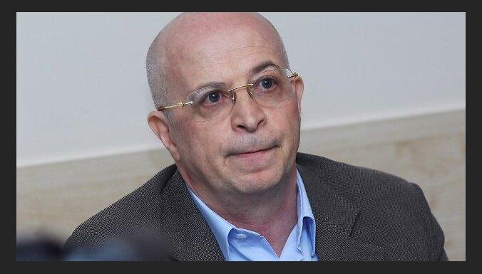 """Bijušā AS """"Parex Banka"""" īpašnieka Viktora Krasovicka rīkotā preses konference. 2010. gada 14. jūnijs"""