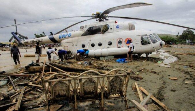 Plūdos un dubļu lavīnās Indonēzijā gājuši bojā vismaz 58 cilvēki